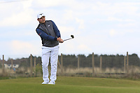 Eddie Pepperell (ENG) on the 2nd fairway during Round 2 of the Betfred British Masters 2019 at Hillside Golf Club, Southport, Lancashire, England. 10/05/19<br /> <br /> Picture: Thos Caffrey / Golffile<br /> <br /> All photos usage must carry mandatory copyright credit (&copy; Golffile | Thos Caffrey)