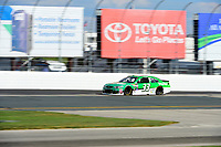 July 16, 2017 - Loudon, New Hampshire, U.S. - Jeffrey Earnhardt, Monster Energy NASCAR Cup Series driver of the Hulu Chevrolet (33), heads into turn 3 at the NASCAR Monster Energy Overton's 301 race held at the New Hampshire Motor Speedway in Loudon, New Hampshire. Eric Canha/CSM