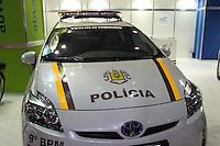 SAO PAULO, SP, 02.11.2014 - SALAO DO AUTOMOVEL - TOYOTA PRIUS em exposi&ccedil;&atilde;o<br />  durante o quarto dia do 28&ordm; Sal&atilde;o Internacional do Autom&oacute;vel no Anhembi na regi&atilde;o norte de S&atilde;o Paulo, neste domingo, 02. (Foto: Marcos Moraes / Brazil Photo Press).