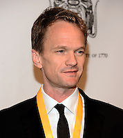 NEW YORK, NY - MARCH 10: Neil Patrick Harris attend the Hasty Pudding Institute of 1770 Honors David Heyman at the Order of the Golden Sphinx Gala at the Appel Room at Jazz at Lincoln Center on March 10, 2014 in New York City.  ©HP/Starlitepics /NORTEPHOTO.COM