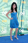 Actress Selena Gomez arrives at the 2008 Teen Choice Awards at the Gibson Amphitheater on August 3, 2008 in Universal City, California.