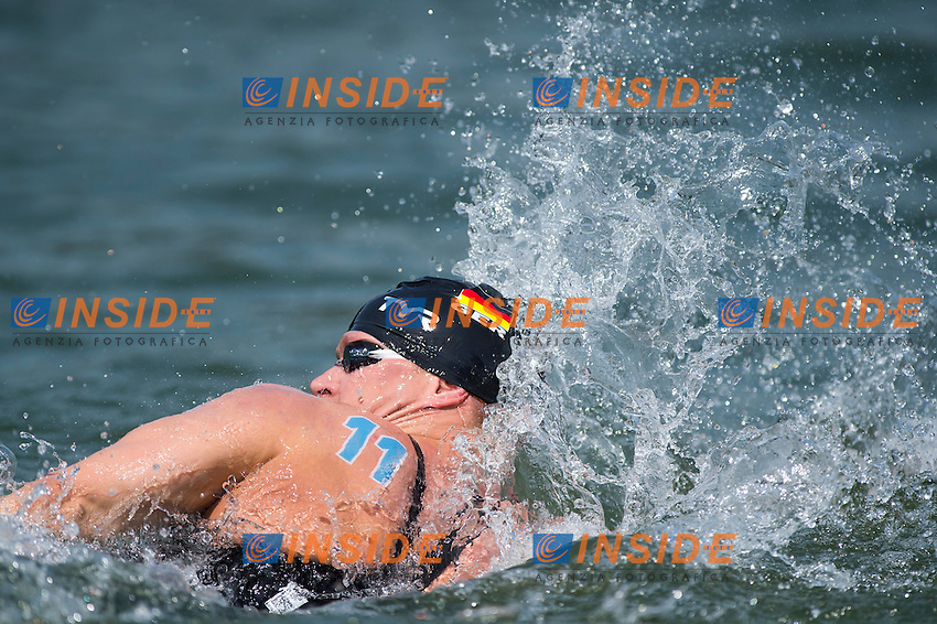 WASCHBURGER Andreas GER<br /> Hoorn, Netherlands <br /> LEN 2016 European Open Water Swimming Championships <br /> Open Water Swimming<br /> Men's 10km<br /> Day 01 10-07-2016<br /> Photo Giorgio Perottino/Deepbluemedia/Insidefoto