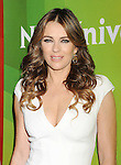PASADENA, CA - JANUARY 15: Actress Elizabeth Hurley attends the NBCUniversal 2015 Press Tour at the Langham Huntington Hotel on January 15, 2015 in Pasadena, California.