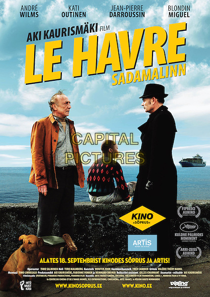 ORIGINAL FINNISH POSTER ART.in Le Havre.*Filmstill - Editorial Use Only*.CAP/FB.Supplied by Capital Pictures.