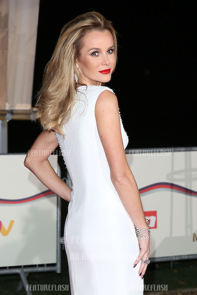 Amanda Holden arriving for the Sun Military Awards 2014, National Maritime Museum, London. 10/12/2014 Picture by: Alexandra Glen / Featureflash