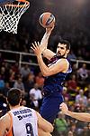 Turkish Airlines Euroleague 2017/2018.<br /> Regular Season - Round 8.<br /> FC Barcelona Lassa vs Valencia Basket: 89-71.<br /> Adrein Moerman.