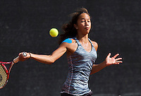 August 9, 2014, Netherlands, Rotterdam, TV Victoria, Tennis, National Junior Championships, NJK,  Daevinia Achong (NED)<br /> Photo: Tennisimages/Henk Koster