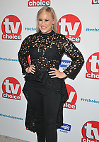 Amy Walsh at the TV Choice Awards 2018, The Dorchester Hotel, Park Lane, London, England, UK, on Monday 10 September 2018.<br /> CAP/CAN<br /> &copy;CAN/Capital Pictures