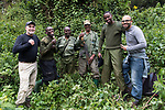 David & Ruben With Gorilla Tracking Team