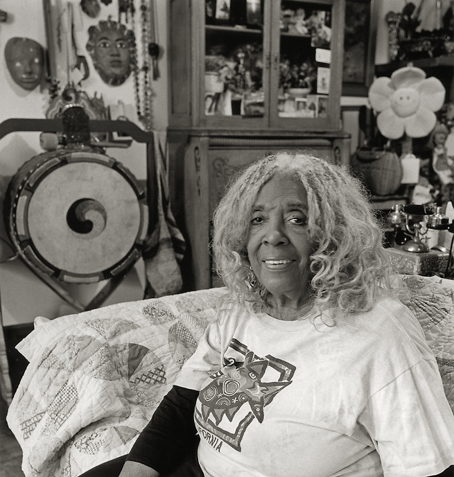 Ellen Stewart, 2007.  Theater director and producer.  Founder, La MaMa Experimental Theater Club.