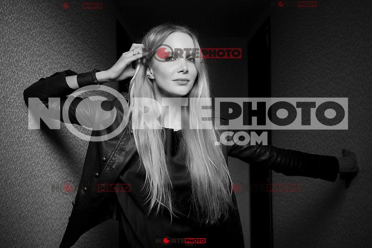 April 25, 2012 : Actris Mia Mountain  posa para  retrato durante el Festival de Cine Tribeca 2012 en el New York Fashion District Hilton Hotel en Nueva York. <br /> *** SOLO**PRECIOS**PREMIUM ***<br /> ©Derek*Reed/MediaPunch/NortePhoto.com*)<br />  *** SOLO**PRECIOS**PREMIUM ***<br /> **SOLO*VENTA*EN*MEXICO**