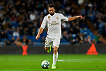 Dani Carvajal of Real Madrid during La Liga match between Real Madrid and CD Leganes at Santiago Bernabeu Stadium in Madrid, Spain. October 30, 2019. (ALTERPHOTOS/A. Perez Meca)