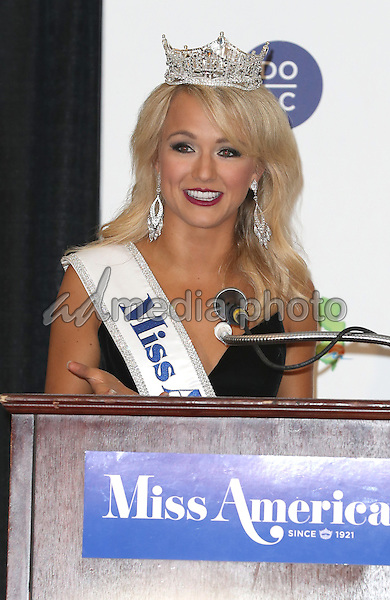 11 September 2016 - Atlantic City, New Jersey - 2017 Miss America Savvy Shields.  2017 Miss America Savvy Shields holds her first press conference at Boardwalk Hall.  Photo Credit: MJT/AdMedia