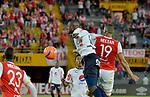 Independiente Medellín venció como visitante 1-0 a Independiente Santa Fe. Fecha 11 Liga Águila I-2017.
