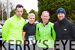 Colm Foley Fossa, Lora Murphy beaufort, Tim Healy Kanturk and Bryan Murphy Beaufort who participated in the Beaufort 10km road race on New Years day