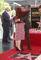 LOS ANGELES, CA - SEPTEMBER 13: Megan Mullally, Eric McCormack, at the Hollywood Walk Of Fame Ceremony honoring Eric McCormack in Los Angeles, California on September 13, 2018. <br /> CAP/MPIFS<br /> &copy;MPIFS/Capital Pictures