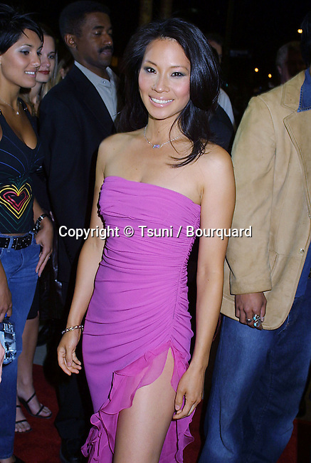 Lucy liu arriving at the premiere of: Ballistic:Ecks Vs. Sever at the Cinerama Dome in Los Angeles. September 18, 2002.           -            LiuLucy01A.jpg
