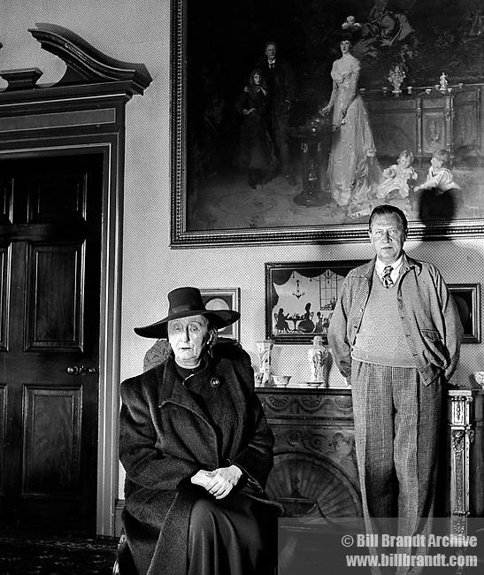 Edith and Osbert Sitwell, 1945