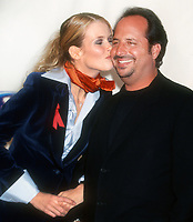Claudia Schiffer, John Lovitz, 1996, Photo By John Barrett/PHOTOlink