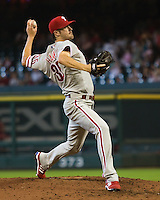 Hamels, Cole 6311.jpg Philadelphia Phillies at Houston Astros. Major League Baseball. September 6th, 2009 at Minute Maid Park in Houston, Texas. Photo by Andrew Woolley.