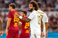Marcelo of Real Madrid celebrates after scoring goal of 0-1 <br /> Roma 11/08/2019 Stadio Stadio Olimpico Football friendly match pre season 2019/2020 AS Roma - Real Madrid <br /> Mabel Green Cup Trophy <br /> Foto Andrea Staccioli / Insidefoto