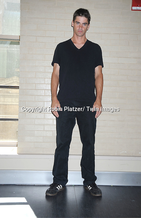 Ben Jorgenson attends the Daytime Stars and Strikes Charity Bowling Event benefitting the American Cancer Society on ..October 9, 2011 at Bowlmor Lanes in Times Square.