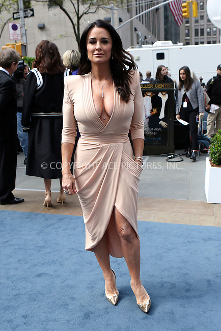 WWW.ACEPIXS.COM<br /> <br /> May 16 2016, New York City<br /> <br /> Kyle Richards arriving at the 2016 NBC Univeral Upfront at Radio City Music Hall on May 16, 2016 in New York City.<br /> <br /> By Line: Nancy Rivera/ACE Pictures<br /> <br /> <br /> ACE Pictures, Inc.<br /> tel: 646 769 0430<br /> Email: info@acepixs.com<br /> www.acepixs.com