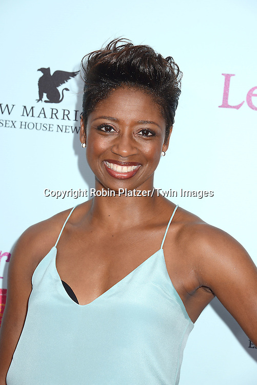 Montego Glover attends the NewYork VIP Premiere of &quot;Learning to Drive&quot;<br /> on August 17, 2015 at The Paris Theatre in New York City, New York, USA. <br /> <br /> photo by Robin Platzer/Twin Images<br />  <br /> phone number 212-935-0770