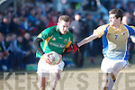 St Brendan's College's Thomas Moriarty and De La Salle College Cal McCarthy.