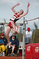 1 April 2006: Lauren Stewart during Stanford's Track & Field Invitational at Cobb Track & Angell Field in Stanford, CA.