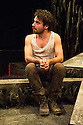 London, UK. 14.01.2013. Nameless Theatre presents THE TROJAN WOMEN, freely adapted from Seneca by Howard Colyer and directed by James Farrell, at the Brockley Jack Studio Theatre. Design by Libby Todd. Lighting design by Steve Lowe. Picture shows: Georgio Galassi (Talthybius). Photo credit: Jane Hobson.