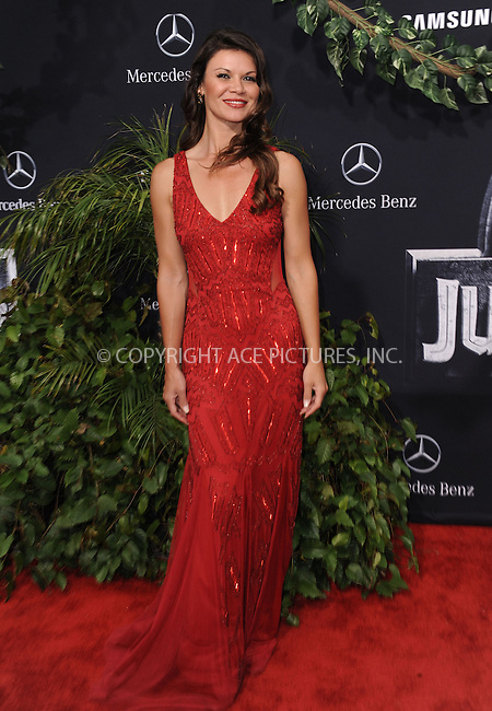 WWW.ACEPIXS.COM<br /> <br /> June 9 2015, LA<br /> <br /> Danielle Vasinova arriving at the world premiere of 'Jurassic World' at the Dolby Theatre on June 9, 2015 in Hollywood, California. <br /> <br /> <br /> By Line: Peter West/ACE Pictures<br /> <br /> <br /> ACE Pictures, Inc.<br /> tel: 646 769 0430<br /> Email: info@acepixs.com<br /> www.acepixs.com