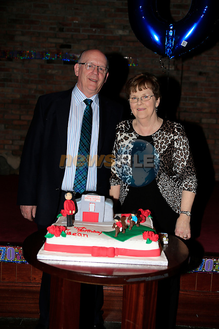 Sean and Miriam Carolan Seans 70th Birthday<br /> Picture www.newsfile.ie