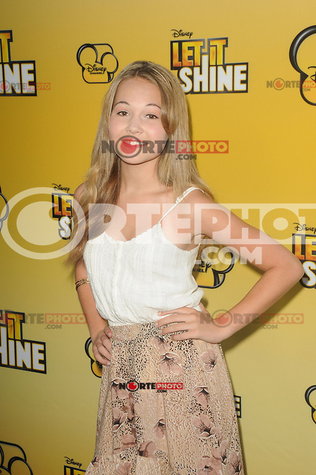 Kelli Berglund at Disney's 'Let It Shine' premiere held at Directors Guild Of America on June 5, 2012 in Los Angeles, California. ©mpi35/MediaPunch Inc. ***NO GERMANY***NO AUSTRIA***