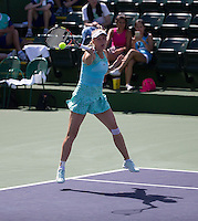 CAROLINE WOZNIACKI (DEN)<br /> <br /> Tennis - BNP PARIBAS OPEN 2015 - Indian Wells - ATP 1000 - WTA Premier -  Indian Wells Tennis Garden  - United States of America - 2015<br /> &copy; AMN IMAGES