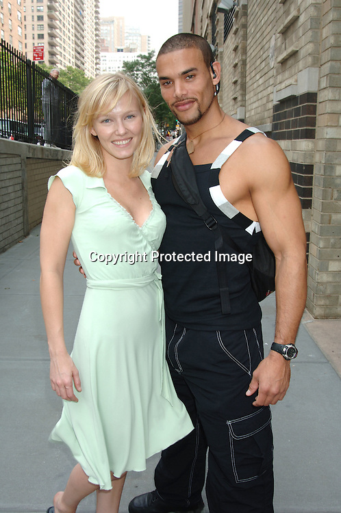 Kelli Giddish and Marcus Patrick..at The All My Children Studio on June 29, 2006 ..Robin Platzer, Twin Images