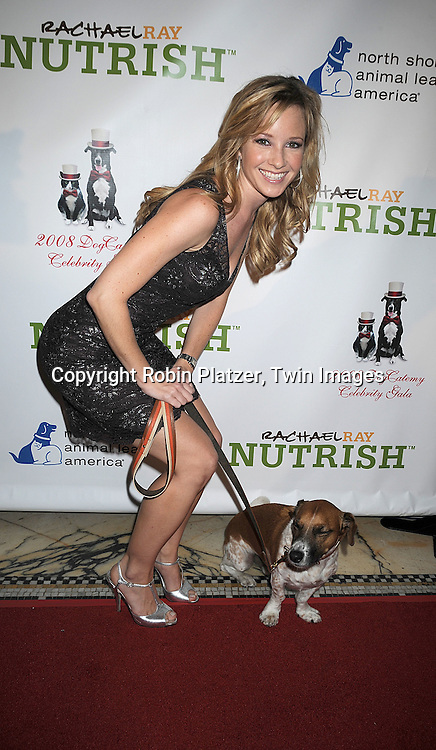 Justis Bolding and Spider..at The North Shore Animal League America's 2008 DogCatemy Celebrity Gala on November 6, 2008 at Capitale in New York City. ....Robin Platzer, Twin Images