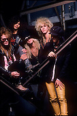 GUNS N ROSES, SESSION, 1987, NEIL ZLOZOWER