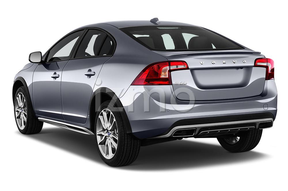 Car pictures of rear three quarter view of 2017 Volvo S60 T5 Platinum 4 Door Sedan angular rear