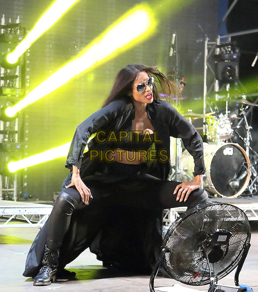 LONDON, ENGLAND - Ciara performs at Wireless Festival Day Three at Finsbury Park, July 5th 2015 in London, England<br /> CAP/ROS<br /> &copy;ROS/Capital Pictures