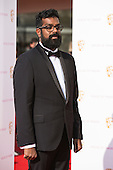 London, UK. 8 May 2016. Comedian Romesh Ranganathan. Red carpet  celebrity arrivals for the House Of Fraser British Academy Television Awards at the Royal Festival Hall.