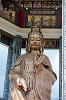 Kuan Yin, Goddess of Mercy, at Kek Lok Si Chinese Buddhist Temple, George Town, Penang, Malaysia.