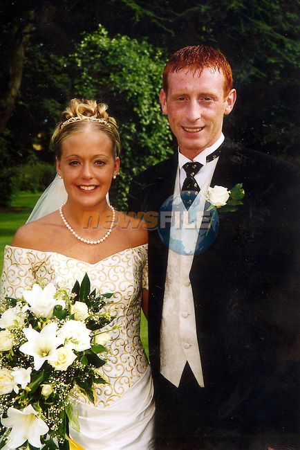 Stephen Donnelly's on his wedding day..Picture: Paul Mohan/Newsfile