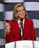 United States Senate Candidate Katie McGinty (Democrat of Pennsylvania) makes remarks during the fourth session of the 2016 Democratic National Convention at the Wells Fargo Center in Philadelphia, Pennsylvania on Thursday, July 28, 2016.<br /> Credit: Ron Sachs / CNP<br /> (RESTRICTION: NO New York or New Jersey Newspapers or newspapers within a 75 mile radius of New York City)