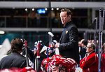 Stockholm 2013-12-28 Ishockey Hockeyallsvenskan Djurg&aring;rdens IF - Almtuna IS :  <br /> Almtuna tr&auml;nare coach Niklas Eriksson <br /> (Foto: Kenta J&ouml;nsson) Nyckelord:  portr&auml;tt portrait