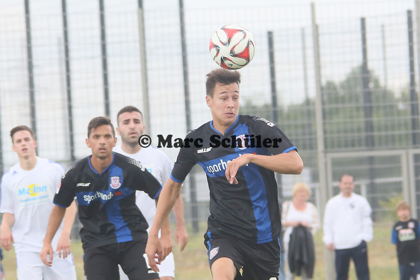 Kopfball Mario Engels (FSV) - VfB Ginsheim vs. FSV Frankfurt