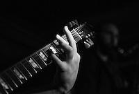 CIUDAD DE MÉXICO, septiembre 18, 2014. El grupo de Jazz de Los Dorados durante su concierto en el salón Pata Negra de la Ciudad de México, el 18 de septiembre de 2014. FOTO: ALEJANDRO MELÉNDEZ