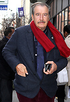 NEW YORK, NY - JANUARY 24:  Former President of Mexico Vicente Fox at BUILD SERIES  in New York, New York on January 24, 2018.  Photo Credit: Rainmaker Photo/MediaPunch