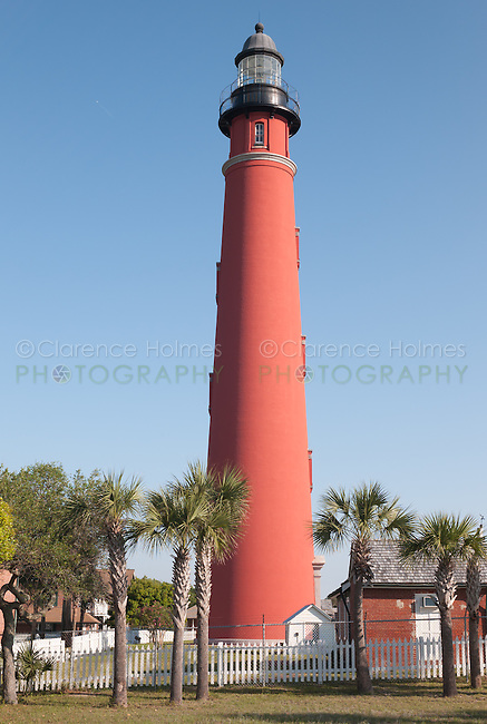 Ponce de Leon Inlet Lighthouse, located in Ponce Inlet, Florida