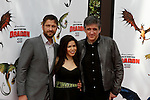 GERARD BUTLER, AMERICA FERRERA, CRAIG FERGUSON. Arrivals to the Los Angeles premiere of Dreamworks' How To Train Your Dragon at the Gibson Amphitheater. Universal City, CA, USA. March 21, 2010.